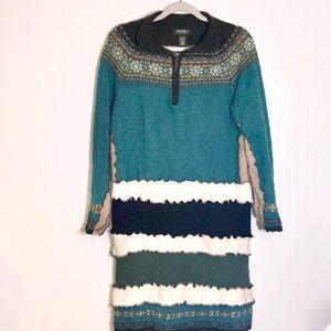 Rare find! Eddie Bauer Collectibles sweater dress.